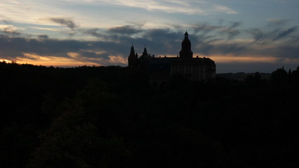 Romantyczny zamek Książ.