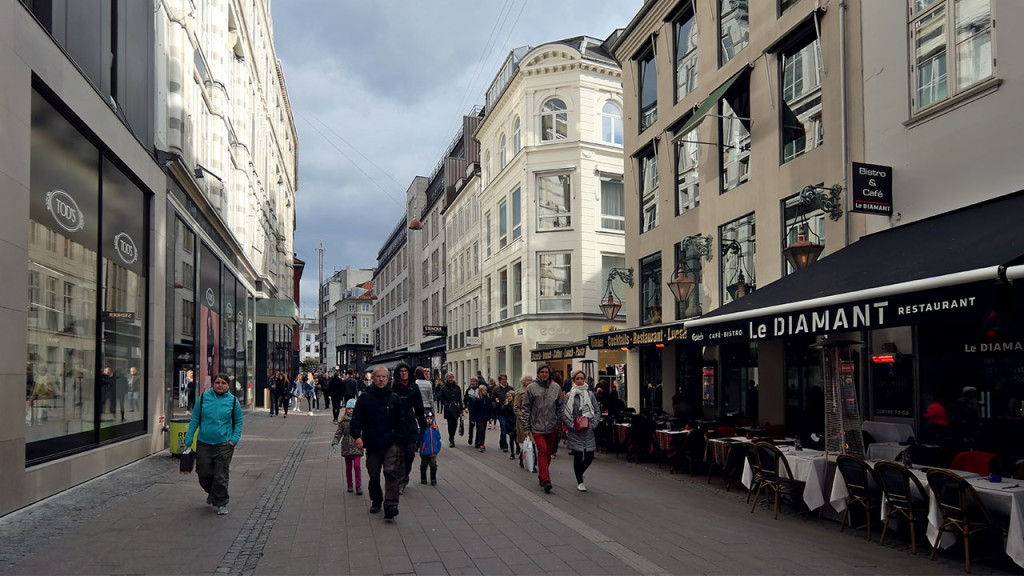 Kopenhaga w październiku 2015