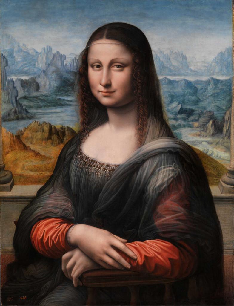 kopia Mony Lisy, zwana Giocondą z Prado