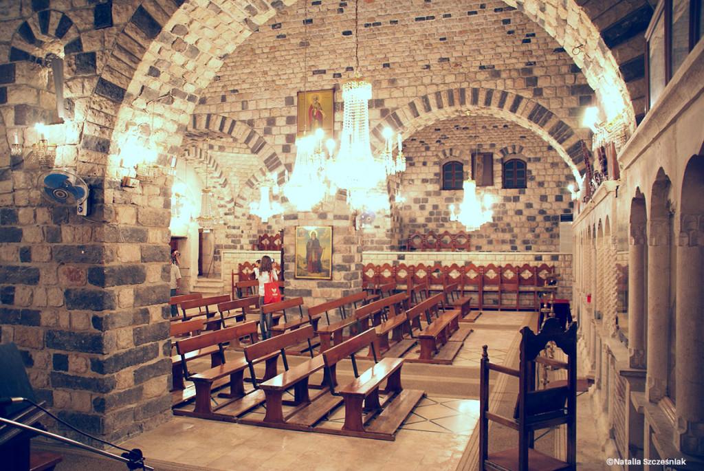 Wnętrze jednego z kościołów chrześcijańskich