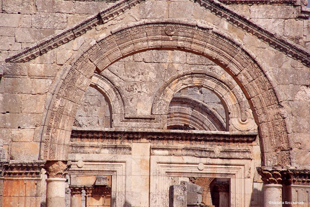 Wczesnochrześcijanski kościół Szymona Słupnika. Nie wiadomo czy jeszcze istnieje.