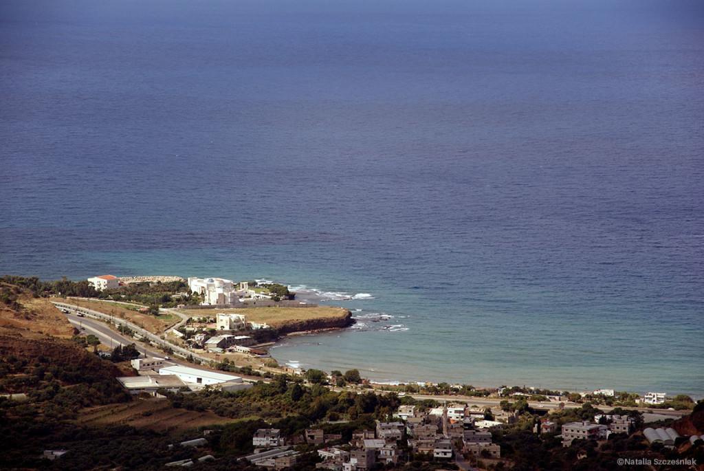 Morze w Syrii jest piękne.